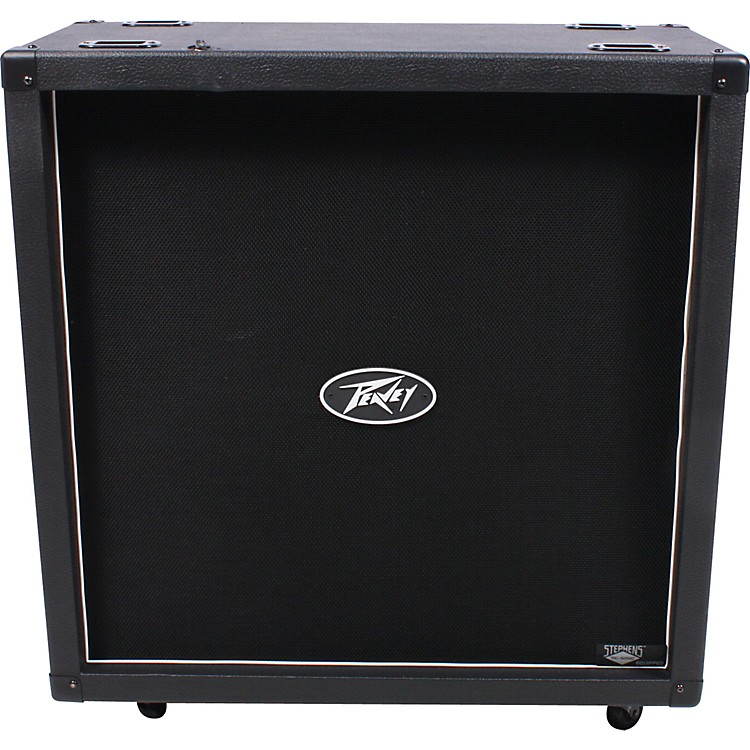 Peavey 430 4x12 Guitar Speaker Cabinet Black Straight