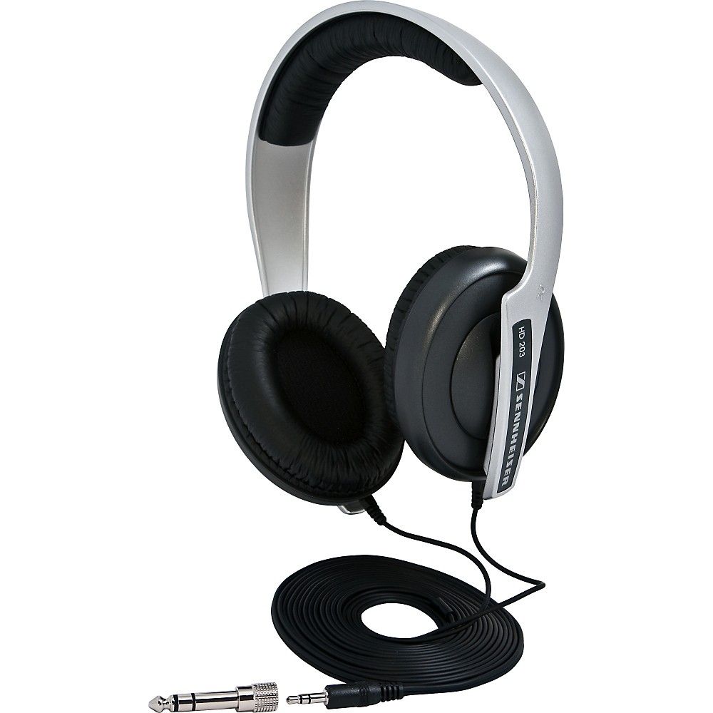 Sennheiser HD203 Closed Back Around Ear Studio Headphones
