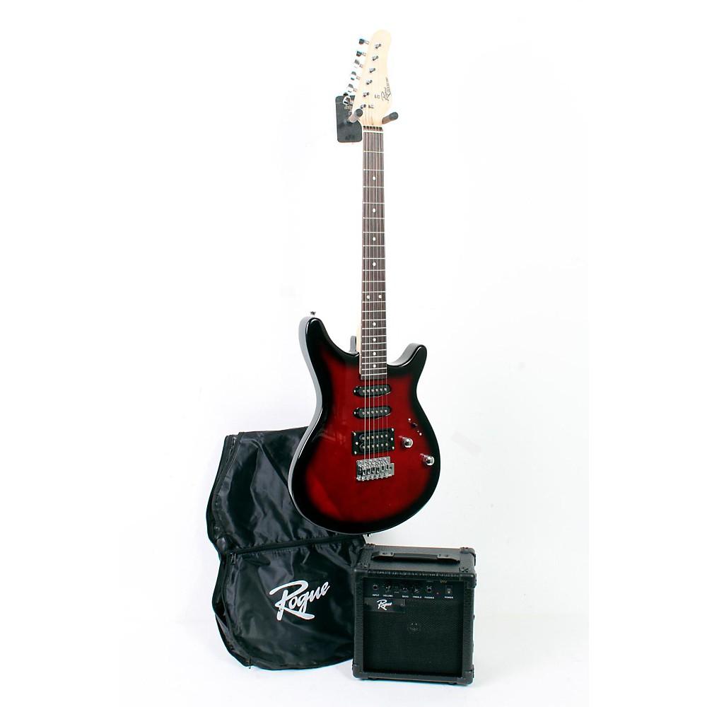 Upc 888365348315 Rogue Rocketeer Electric Guitar Pack Redburst