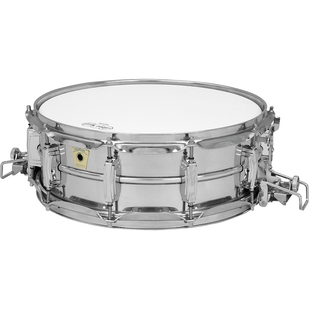ludwig super sensitive snare classic lugs chrome 5x14 ebay. Black Bedroom Furniture Sets. Home Design Ideas