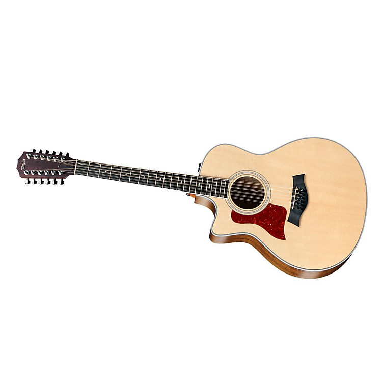 Taylor456ce-L Ovangkol/Spruce Grand Symphony 12-String Left-Handed Acoustic-Electric Guitar
