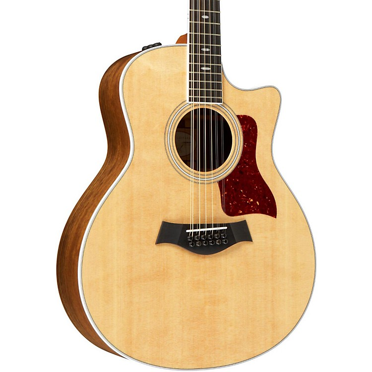 Taylor 456ce Ovangkol/Spruce Grand Symphony 12-String Acoustic-Electric Guitar Natural
