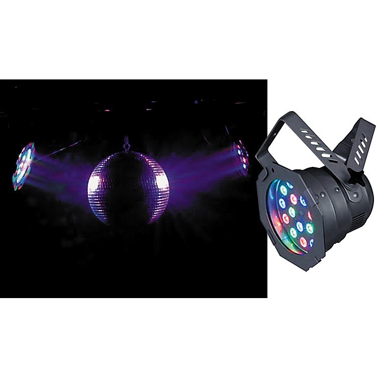 American DJ 46HP LED Pro PAR Can Light Black