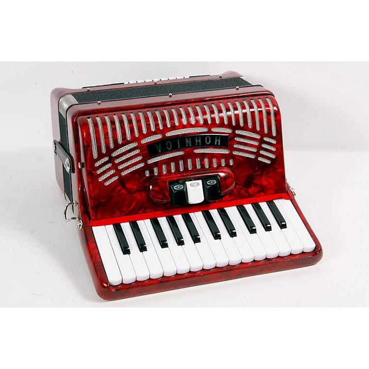 Hohner48 Bass Entry Level Piano AccordionRed888365614250