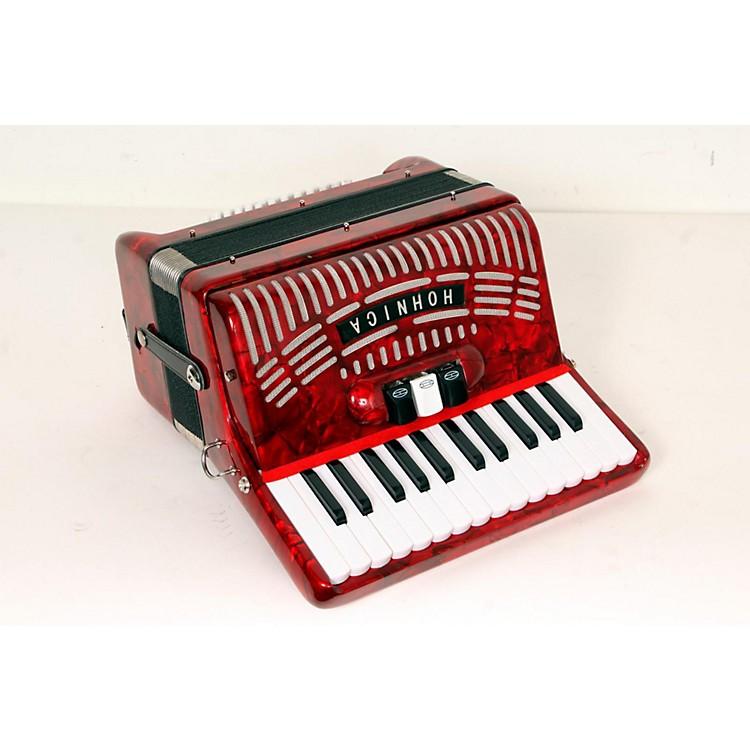 Hohner48 Bass Entry Level Piano AccordionRed888365778341