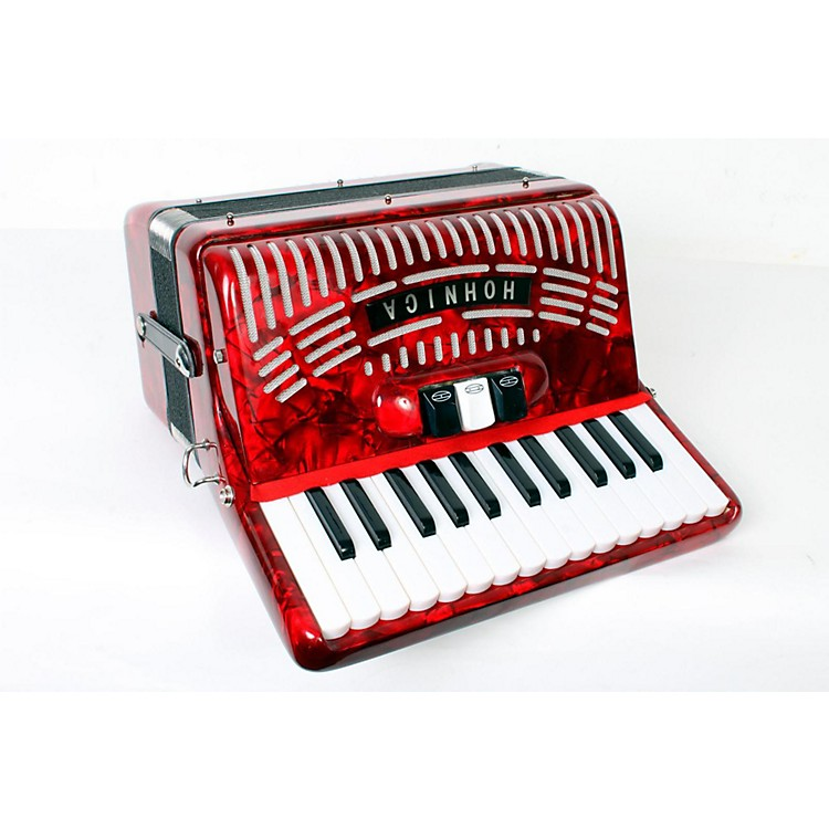 Hohner48 Bass Entry Level Piano AccordionRed888365813776
