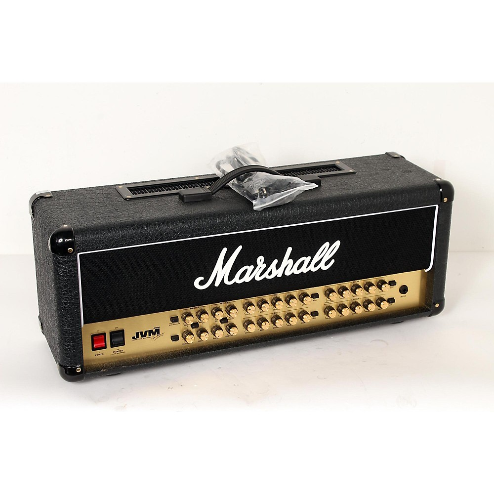marshall jvm series jvm410h 100w tube guitar amp head regular 888365996639 ebay. Black Bedroom Furniture Sets. Home Design Ideas
