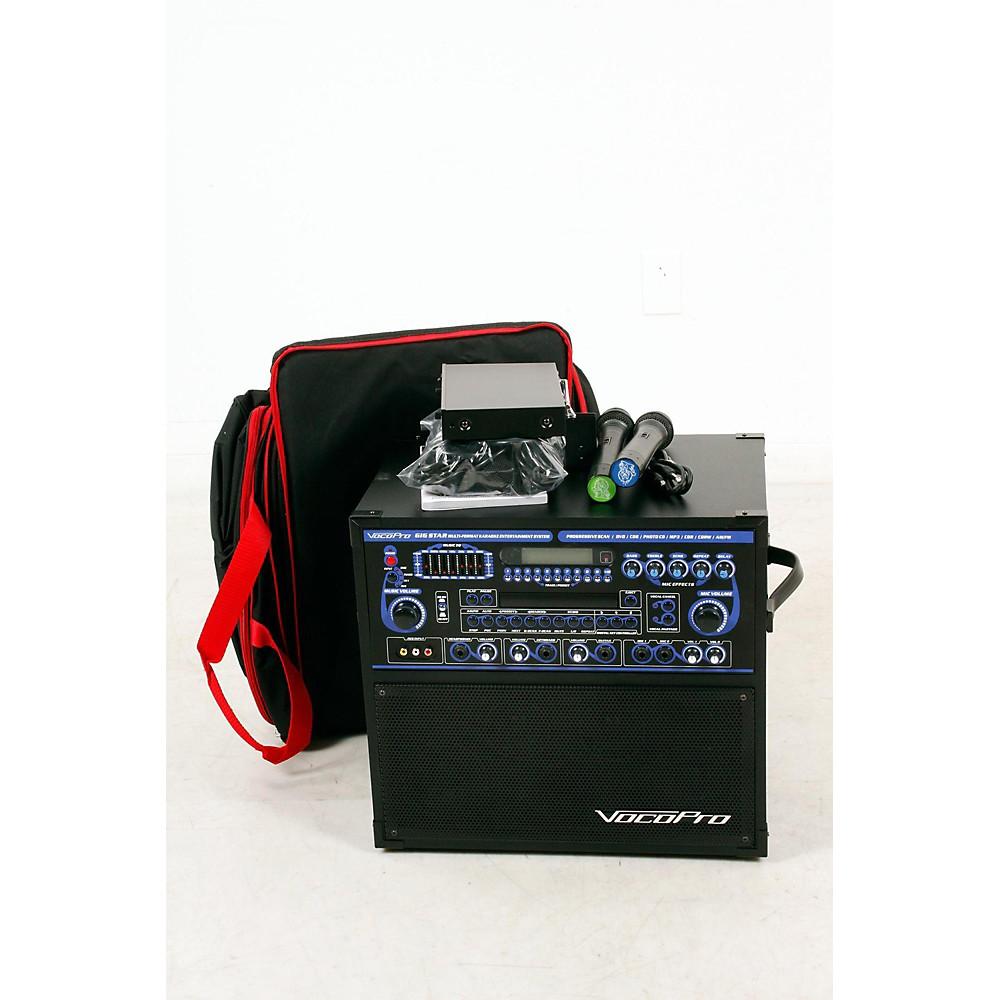 vocopro gig star karaoke machine package 888365957074 ebay. Black Bedroom Furniture Sets. Home Design Ideas