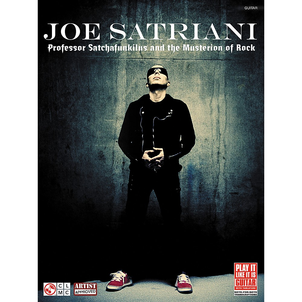 Cherry Lane Joe Satriani Professor Satchafunkilus and the Musterion of Rock Guitar Tab