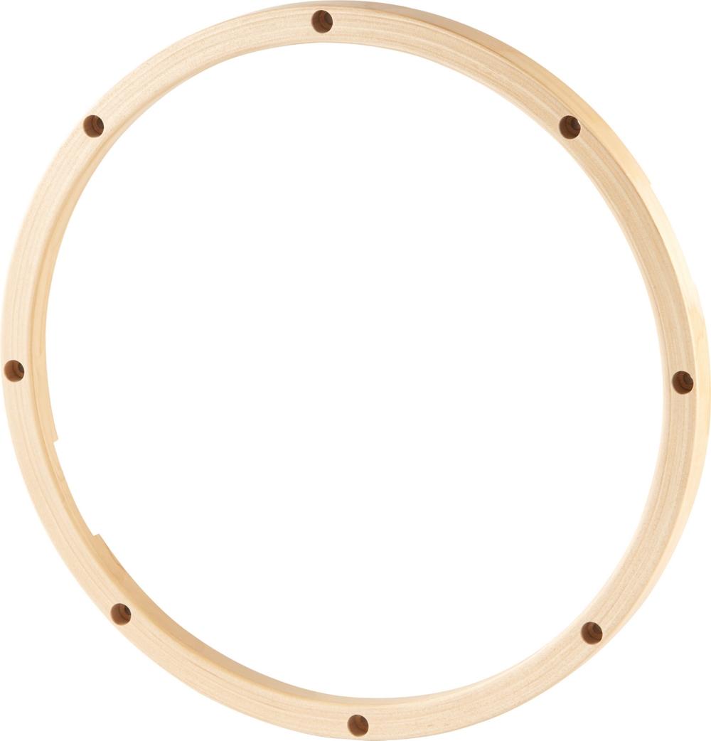 gibraltar snare side wood drum hoop 14 in 8 lug ebay. Black Bedroom Furniture Sets. Home Design Ideas