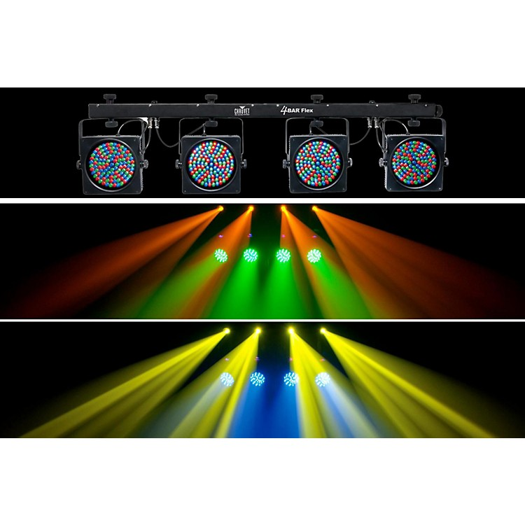 Chauvet 4BAR Flex LED Wash Light System w/ DMX Capability