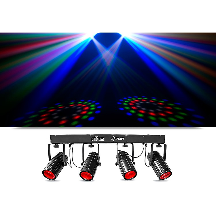 Chauvet 4PLAY 6-Channel LED Light Bar and Effects System