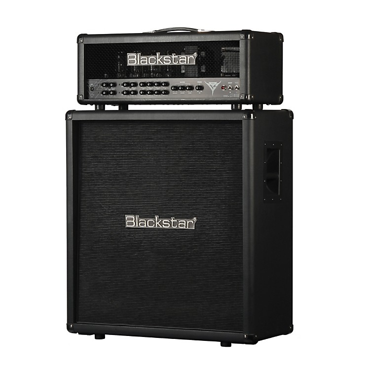 Blackstar 4x12 Gus G Signature Guitar Speaker Cabinet Black Straight