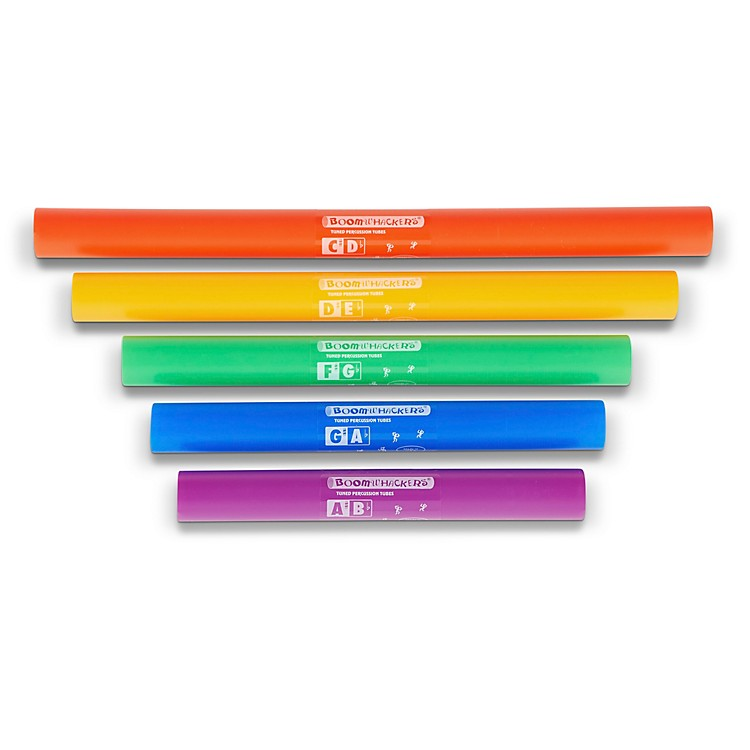 Boomwhackers 5-Note Chromatic Set (Upper Octave) Boomwhackers Tuned Percussion Tubes
