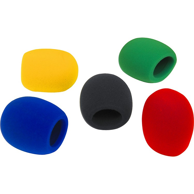 Musician's Gear 5 Pack Windscreens