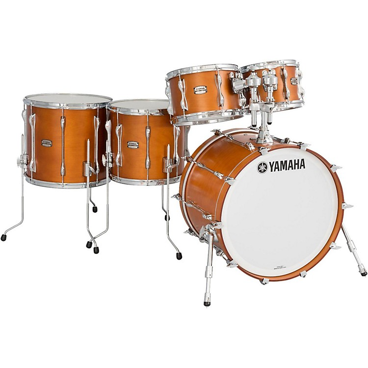 Yamaha 5-Piece Recording Custom Shell Pack Real Wood