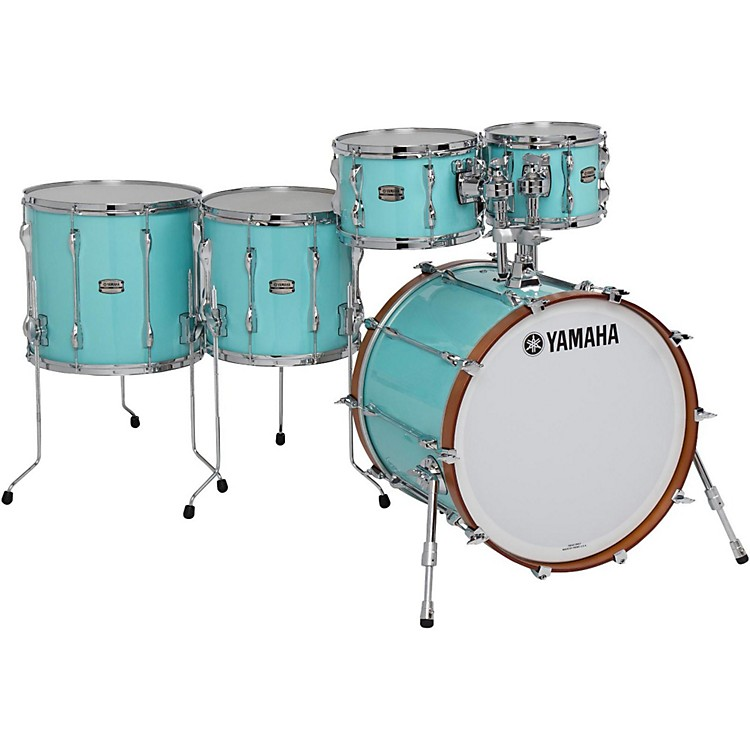 Yamaha 5-Piece Recording Custom Shell Pack Surf Green