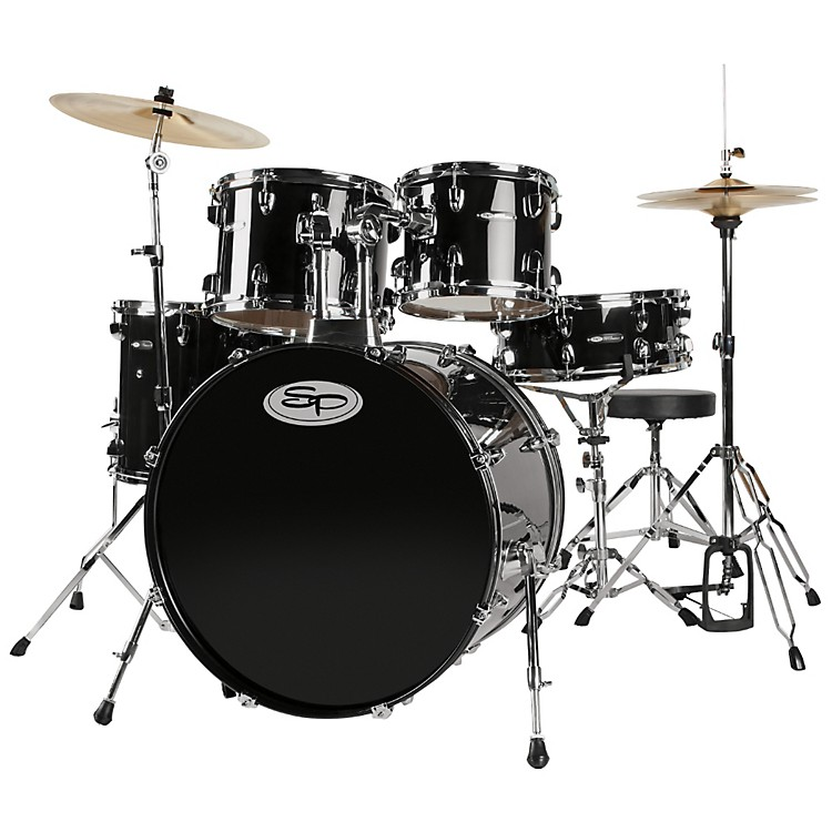 Sound Percussion 5-Piece Shell Pack Black
