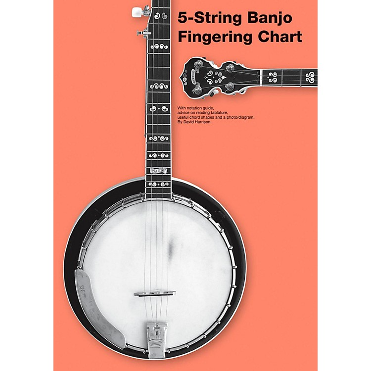 Music Sales5-String Banjo Fingering Chart