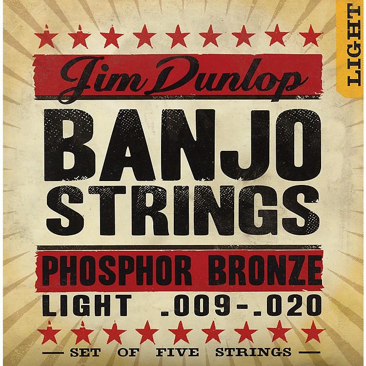Dunlop5-String Banjo Light Phosphor Bronze Strings