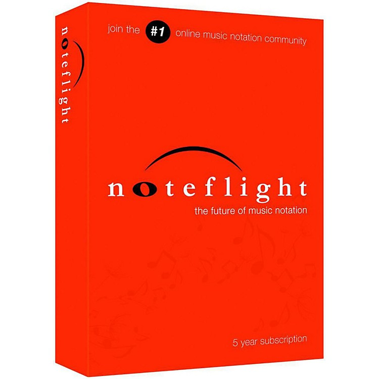 Noteflight 5-Year Subscription