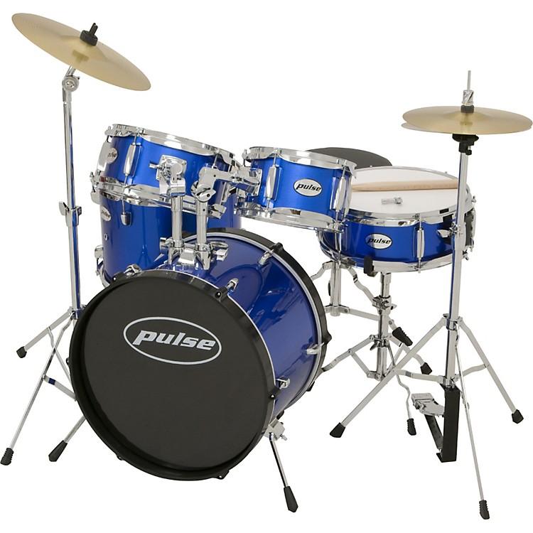 Pulse5-Piece Junior Drum SetMetallic Blue