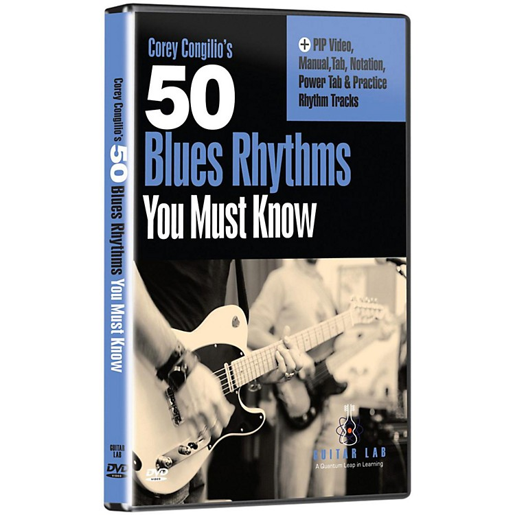 eMedia 50 Blues Rhythms You Must Know DVD