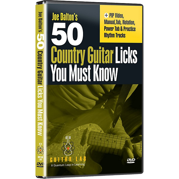 eMedia50 Country Guitar Licks You Must Know! (DVD)