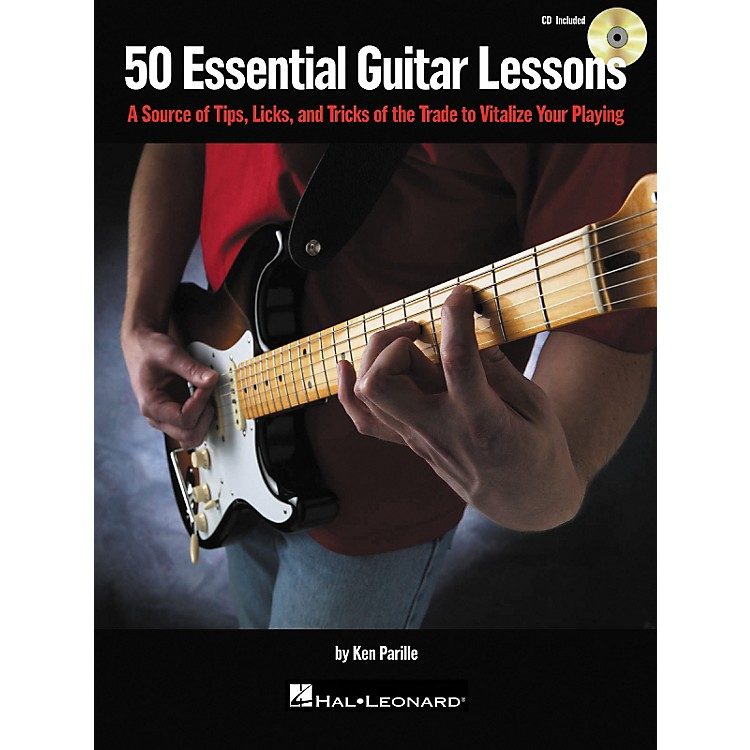 Hal Leonard 50 Essential Guitar Lessons (Book/CD)