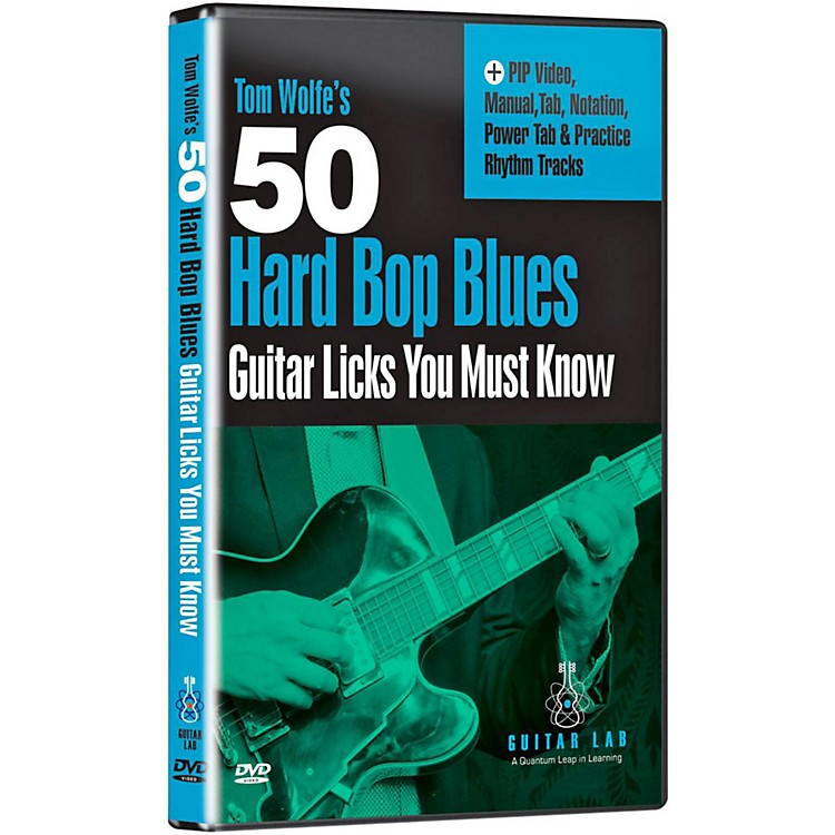 Emedia 50 Hard Bop Blues Licks You Must Know DVD