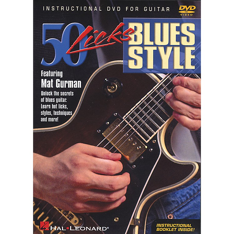 Hal Leonard50 Licks Blues Style (DVD)