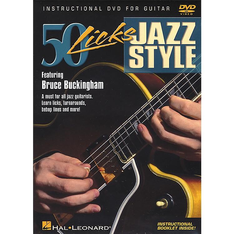 Hal Leonard50 Licks Jazz Style DVD