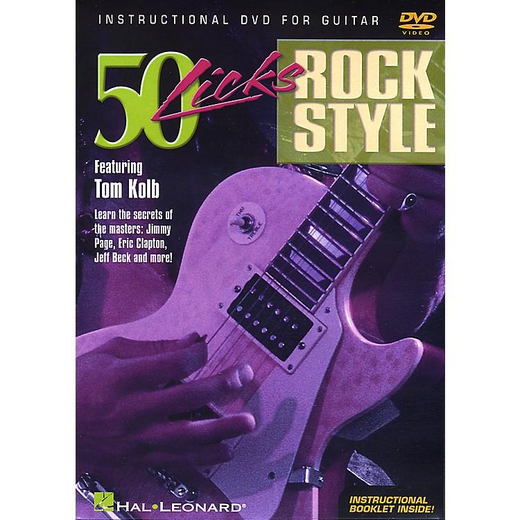 Hal Leonard50 Licks Rock Style DVD