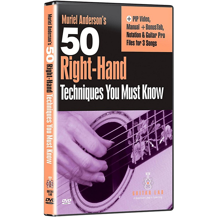 Emedia50 Right Hand Techniques You Must Know DVD