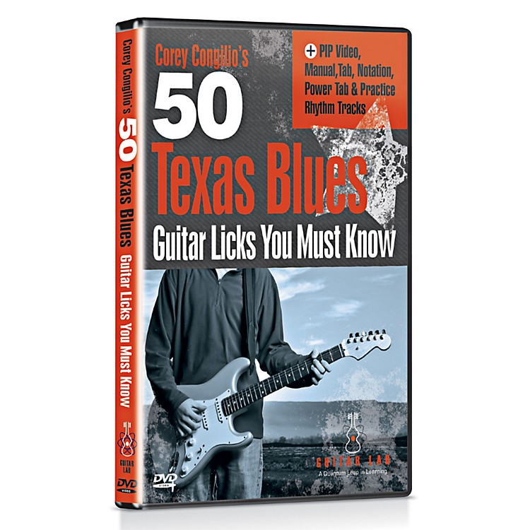 Emedia 50 Texas Blues Licks You Must Know DVD