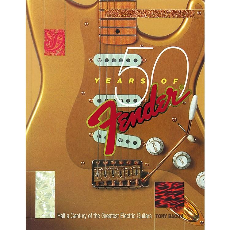 Backbeat Books50 Years of Fender Book