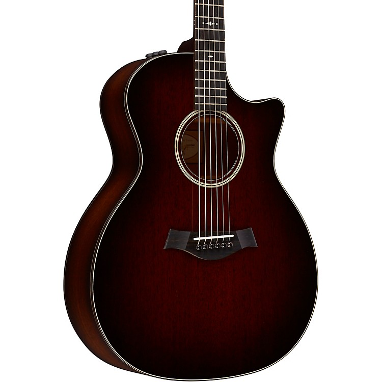 Taylor500 Series 524ce-SEB Grand Auditorium Acoustic-Electric GuitarShaded Edge Burst