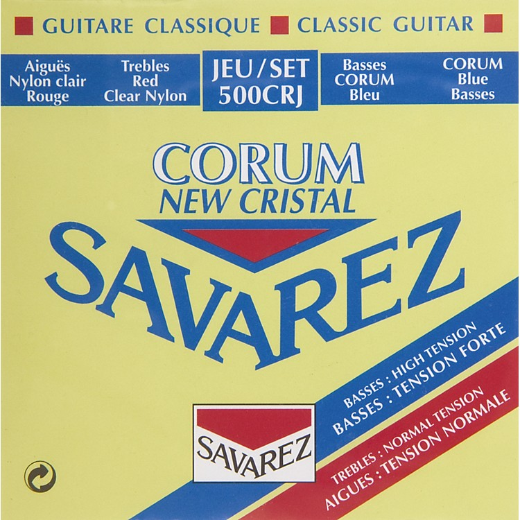 Savarez 500CRJ Corum Cristal Classic Guitar Strings