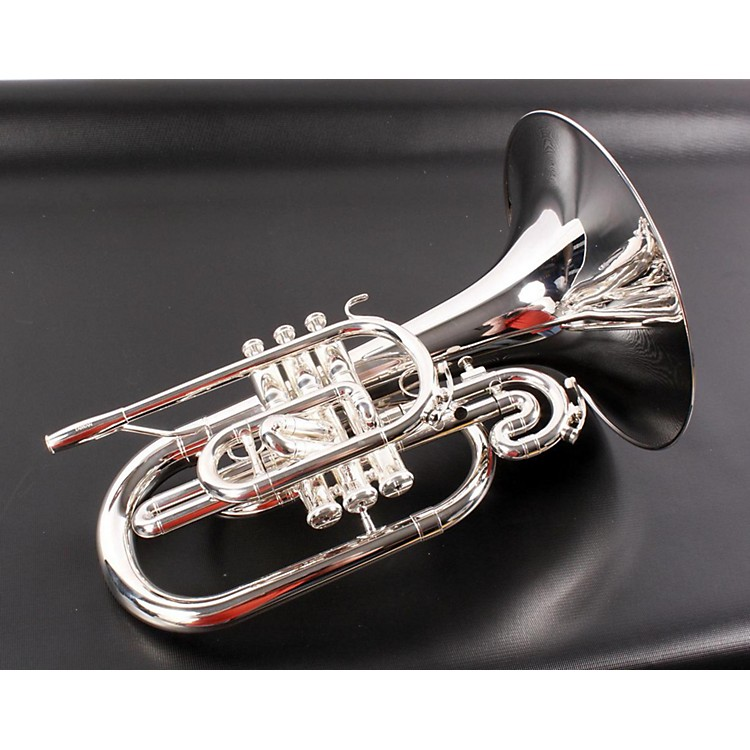 Jupiter 5050 Quantum Series Marching F Mellophone Silver 888365071398