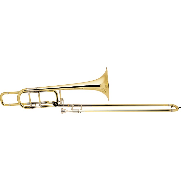 Bach 50B Series Professional Bass Trombone 50BOG Gold Brass Bell Open Wrap