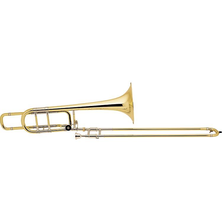 Bach50B Series Professional Bass Trombone50BOG Gold Brass Bell Open Wrap