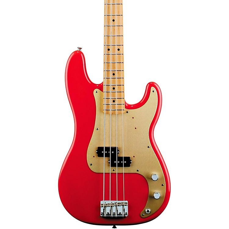 Fender'50s Precision BassFiesta RedMaple Fretboard