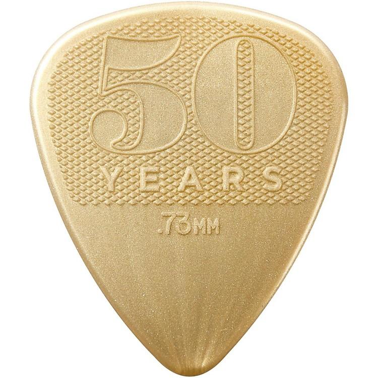 Dunlop50th Anniversary Gold Nylon Pick, .73mm (32-Pack)