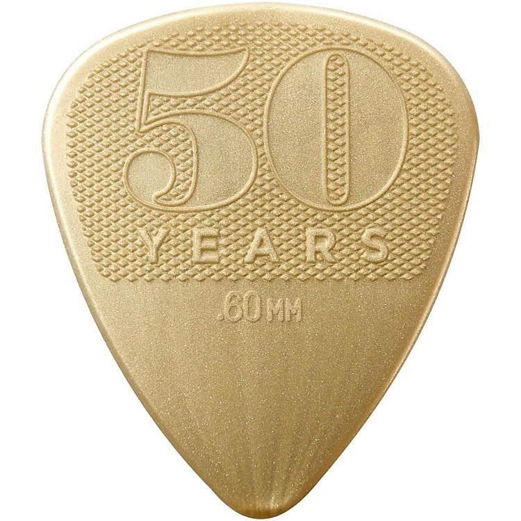 Dunlop50th Anniversary Nylon Pick, .60mm (12-Pack)