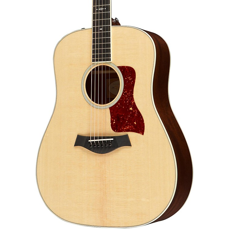 Taylor 510e Dreadnought ES2 Acoustic-Electric Guitar Medium Brown Stain