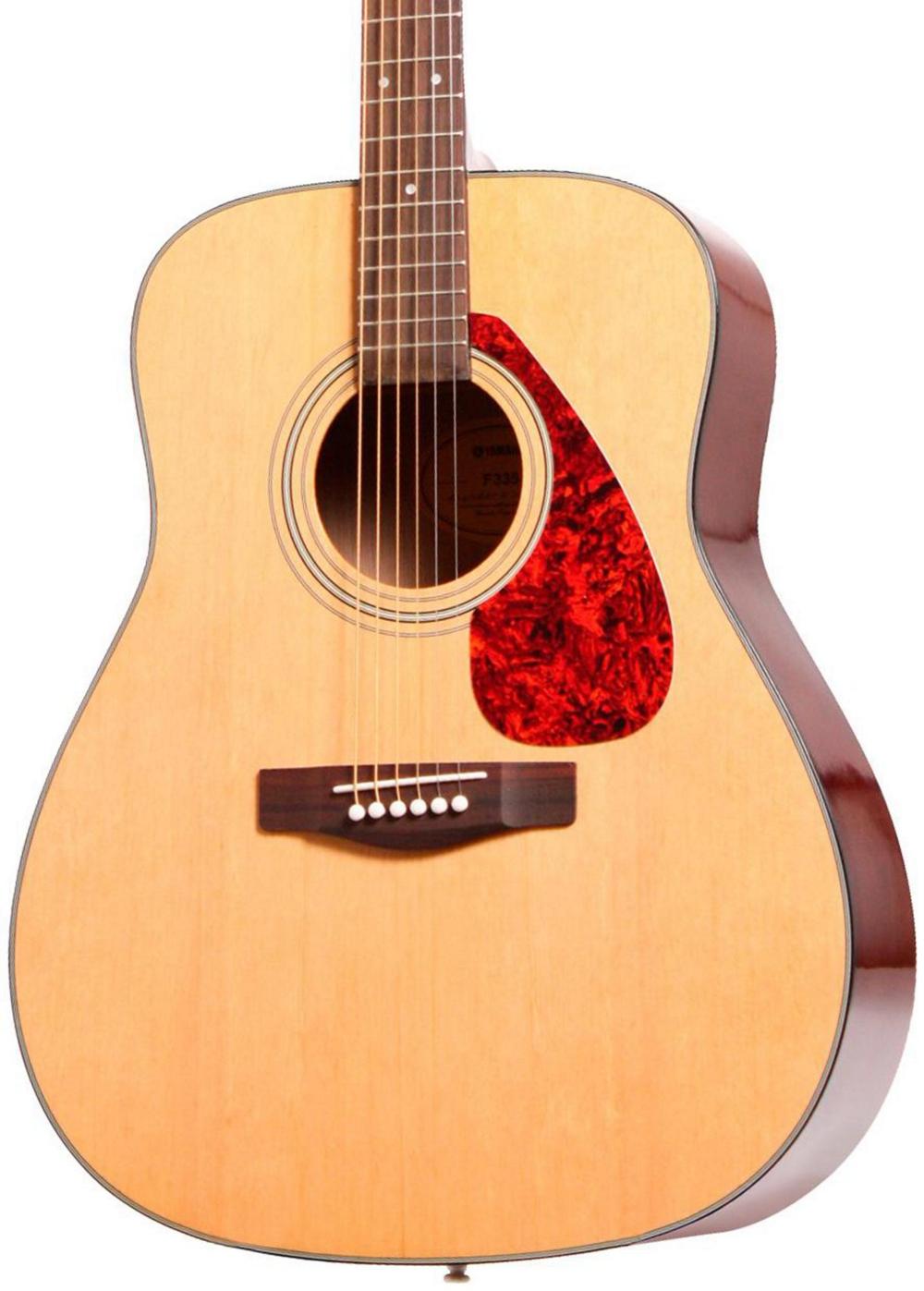 Yamaha f335 acoustic guitar natural 86792609942 ebay for Yamaha guitar brands