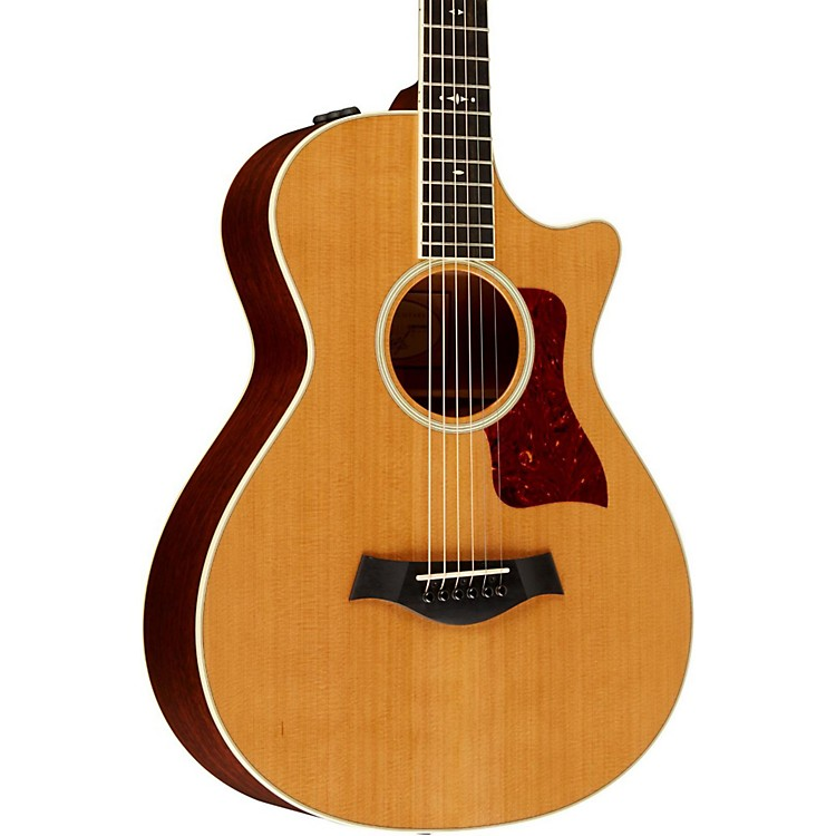 Taylor 512ce Grand Concert 12-Fret Cutaway ES2 Acoustic-Electric Guitar Medium Brown Stain Medium Brown Stain