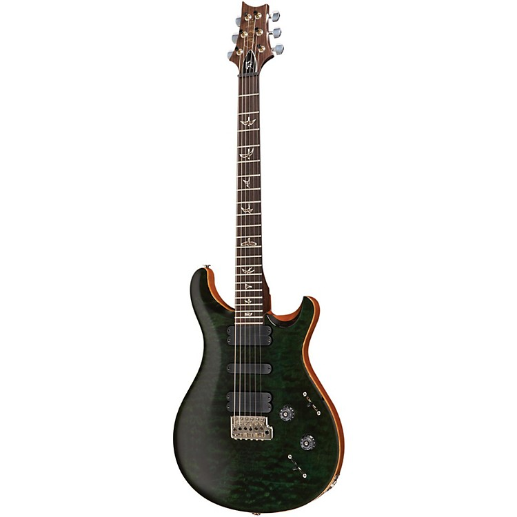 PRS513 Quilted Top with Rosewood Neck Electric GuitarEvergreen