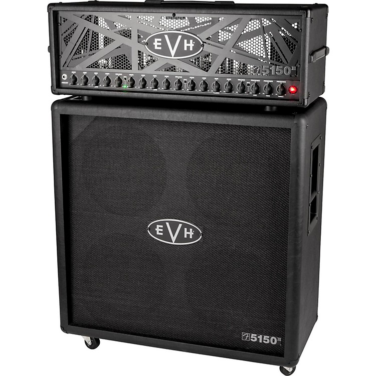 EVH 5150 III 100S 4x12 Straight Guitar Cabinet Black