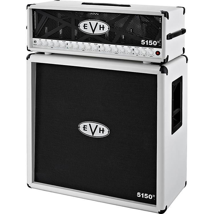 EVH5150 III Head and 4x12 Half StackIvory